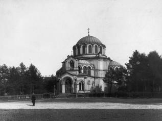 Greek Church of St. Demetrius of Thessalonica. Photo, 1900s.