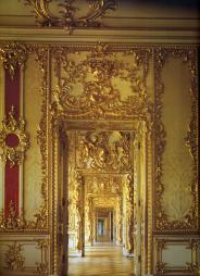 Barocco. Catherine Palace. The Front Enfilade.