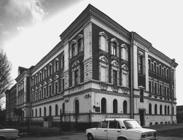 Building of the Almshouse of P.S.Eliseev and L.D.Eliseev.