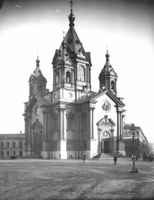 Holy Annunciation Church of the Cavalry Life Guards Regiment. Photo, 1913.