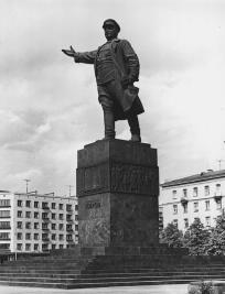 N.V.Tomsky. The monument to S.M.Kirov. 1938.