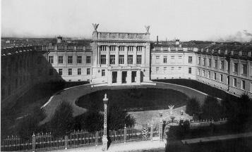 Building of the Nikolaevksaya Academy of the General Staff. Photo, the early 20th century.