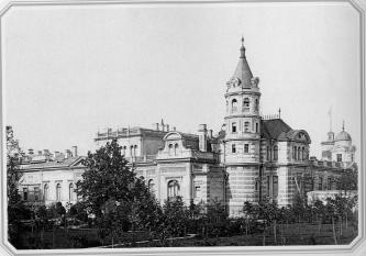 Palace of Grand Prince Alexey Alexandrovich at the Moika River Embankment. Photo, 1890s.