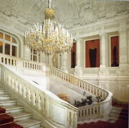 Yusupov Palace. The front staircase.
