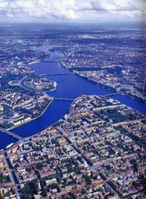 City on the Neva River.