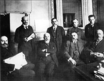 Members of 4th State Duma Provisional Committee. March, 1917.