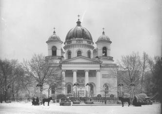 Holy Transfiguration Cathedral. Photo, 1900s.
