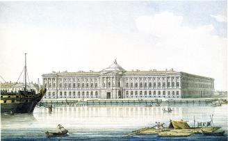 Academy of Fine Arts. By M.N.Vorobyev. 1813.