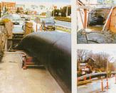ТРУБОПРОВОДЫ, сооружения из плотно соединенных между собой труб, которые служат для транспортировки жидкости...